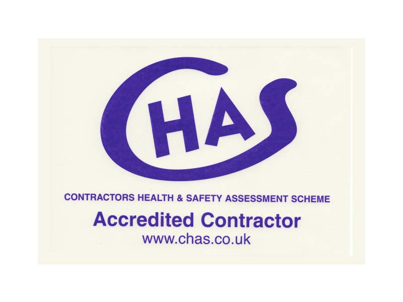 John Wade CHAS Accredited Contractor Logo