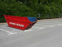 John Wade 8 Yard Builders Skips & Drop Door Skip